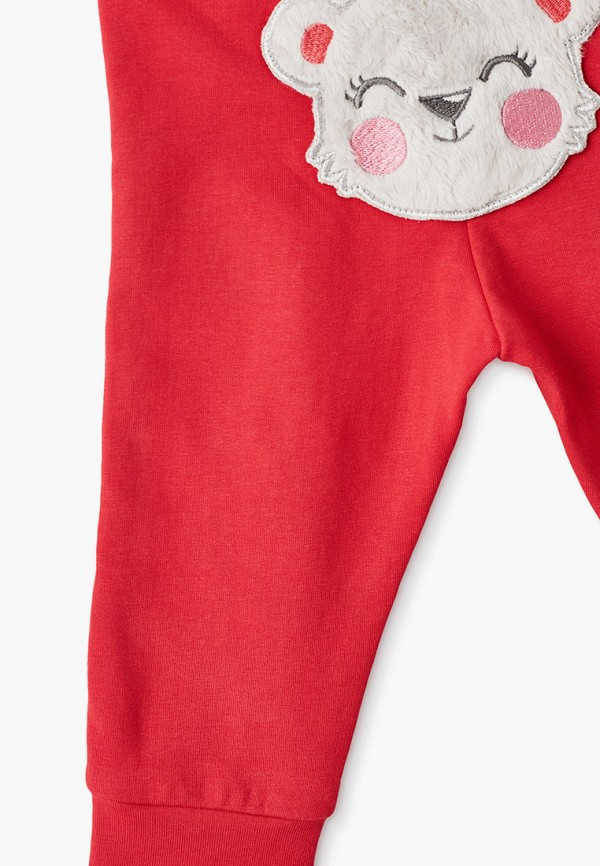 Брюки для девочки Coccodrillo цвет красный  Фото 3