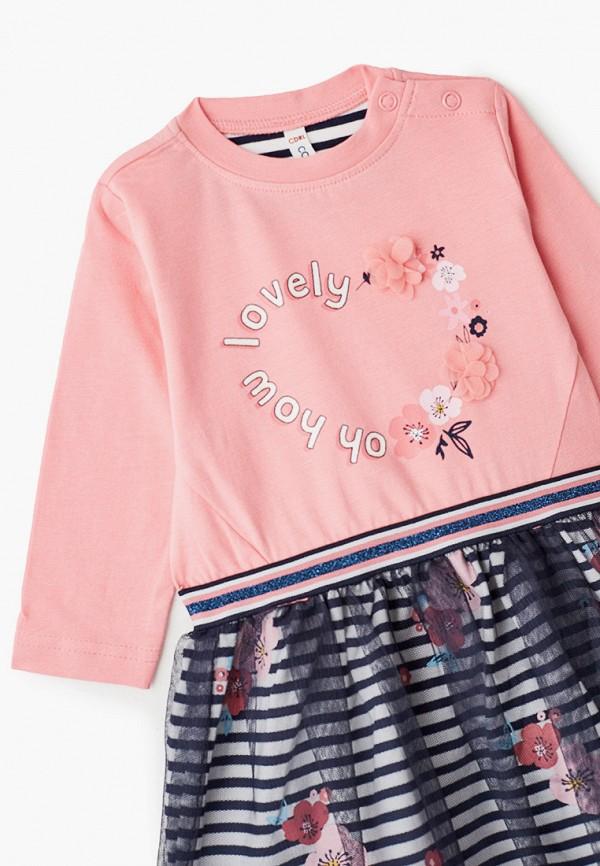 Платья для девочки Coccodrillo цвет розовый  Фото 3