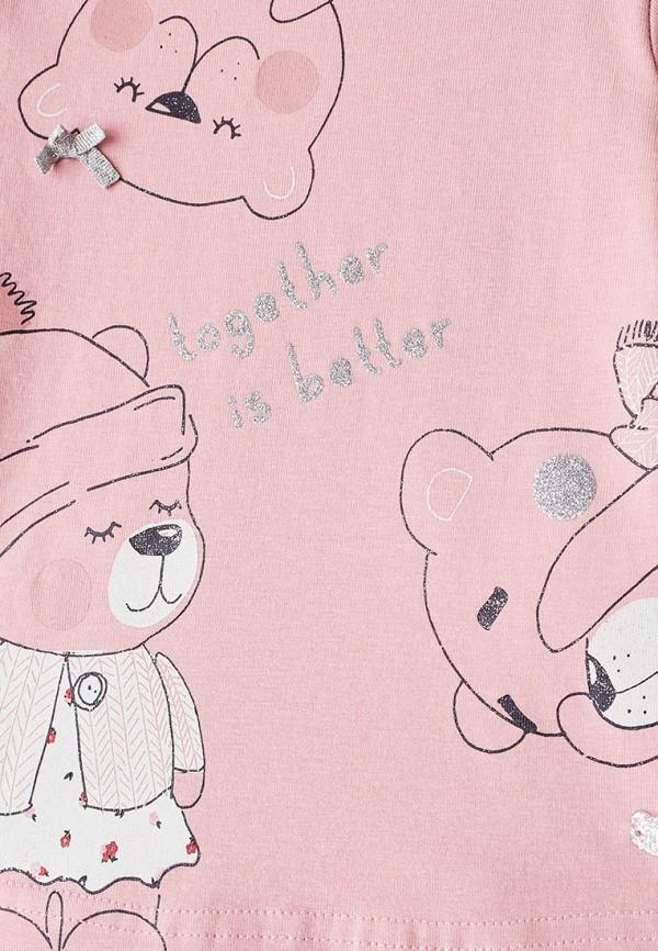 Лонгслив для девочки Coccodrillo цвет розовый  Фото 3