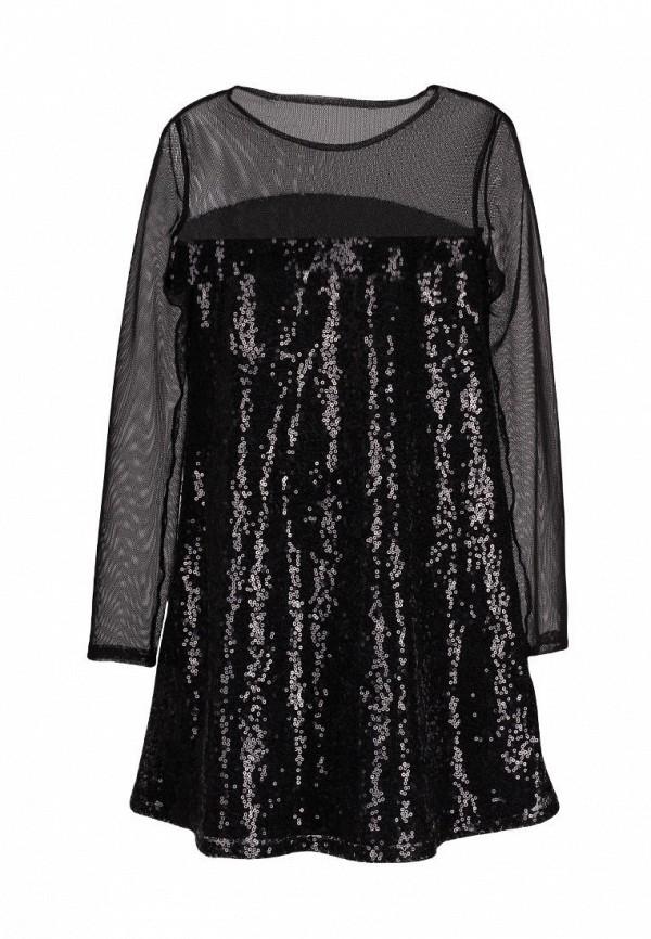 платье yumster для девочки, черное