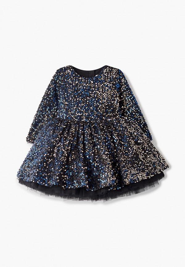 Платье Mimpi Lembut Mimpi Lembut  синий фото