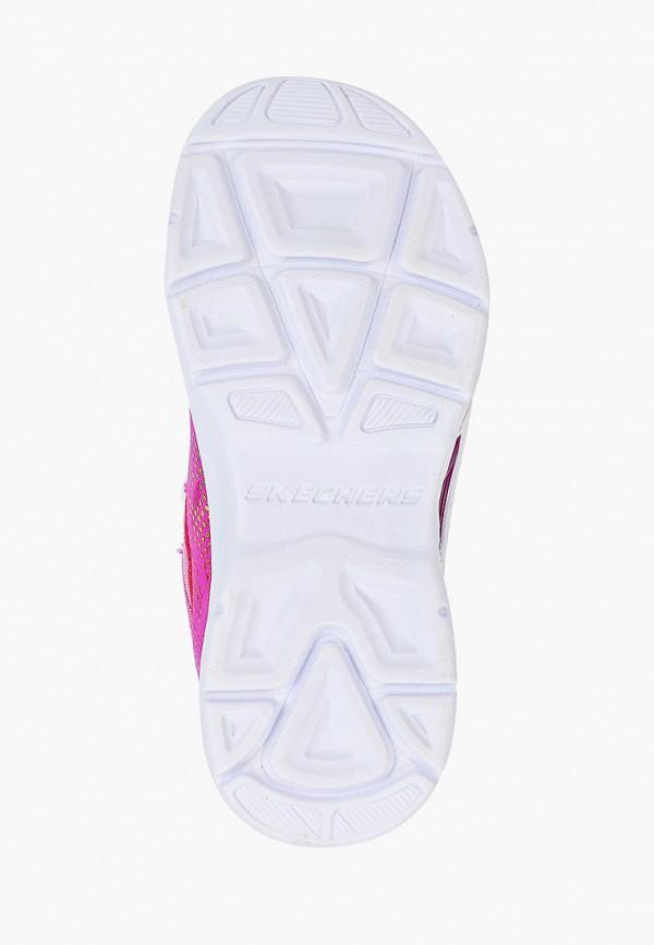 Кроссовки для девочки Skechers цвет розовый  Фото 5