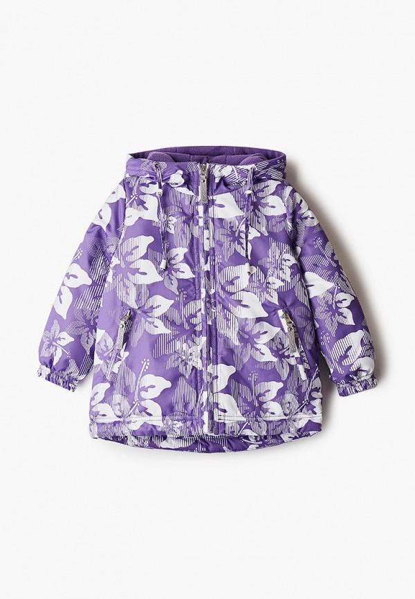 Куртка для девочки утепленная Saima цвет фиолетовый