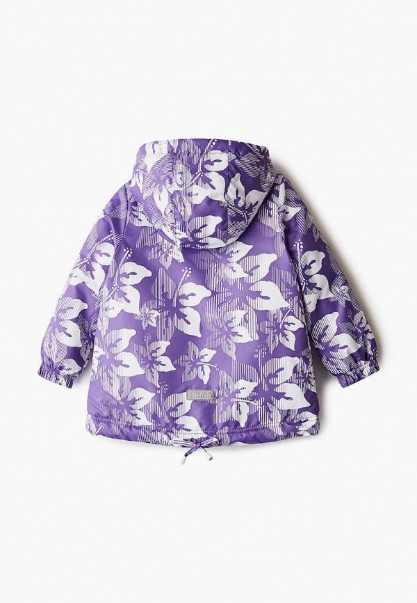 Куртка для девочки утепленная Saima цвет фиолетовый  Фото 2