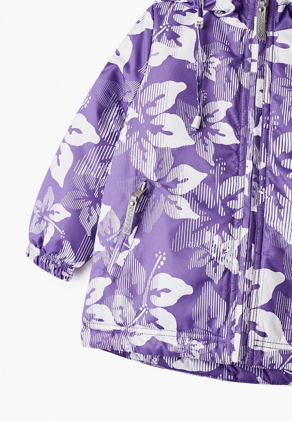 Куртка для девочки утепленная Saima цвет фиолетовый  Фото 3