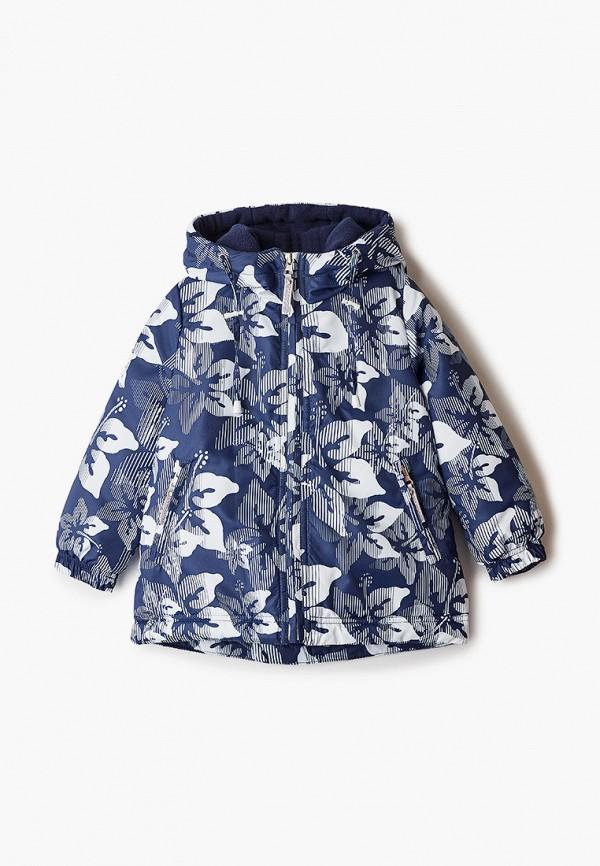 Куртка для девочки утепленная Saima цвет синий