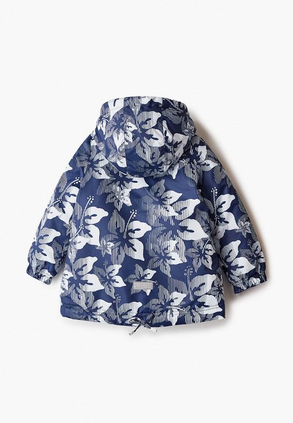 Куртка для девочки утепленная Saima цвет синий  Фото 2