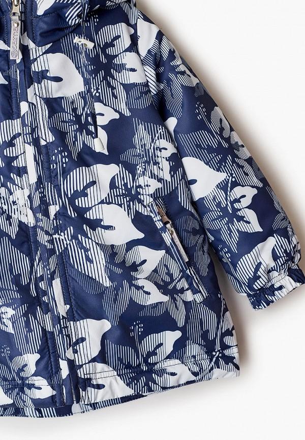 Куртка для девочки утепленная Saima цвет синий  Фото 3
