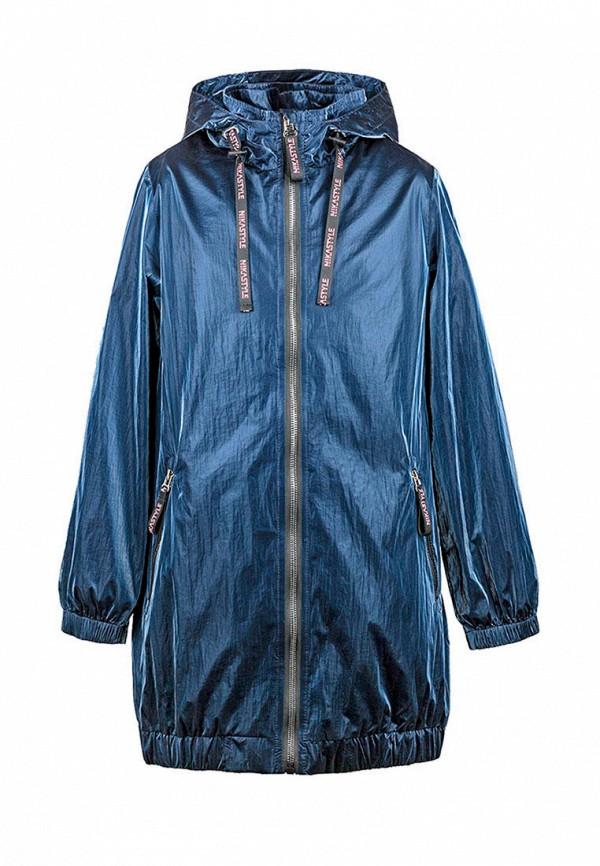 Куртка для девочки Nikastyle цвет синий