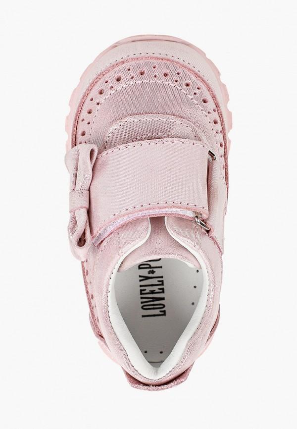 Ботинки для девочки Lovely Puppy цвет розовый  Фото 4