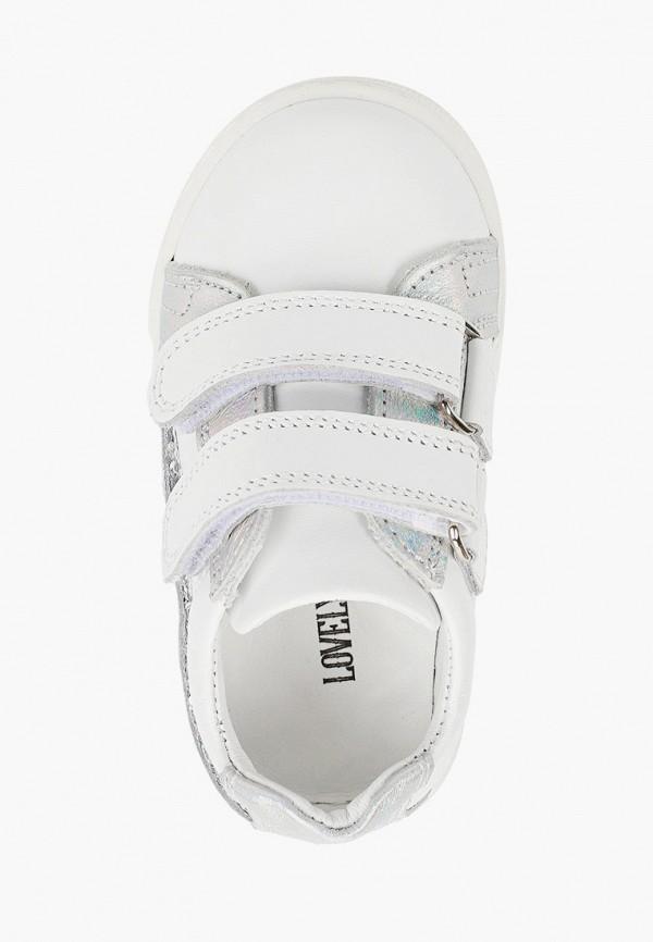 Ботинки для девочки Lovely Puppy цвет белый  Фото 4