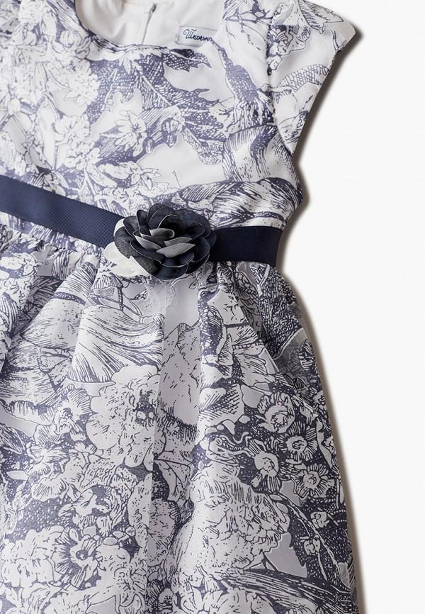 Платья для девочки Школьная Пора цвет синий  Фото 3