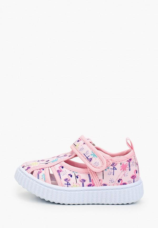 сандалии coccodrillo для девочки, розовые