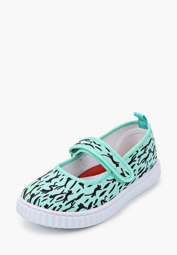 Туфли для девочки Coccodrillo цвет бирюзовый  Фото 2