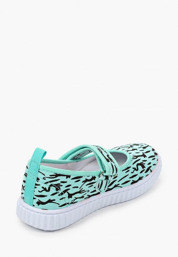 Туфли для девочки Coccodrillo цвет бирюзовый  Фото 3