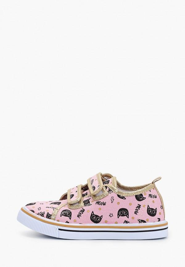 Кеды для девочки Coccodrillo цвет розовый