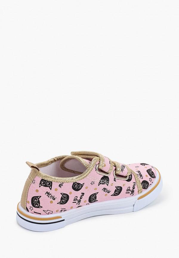 Кеды для девочки Coccodrillo цвет розовый  Фото 3