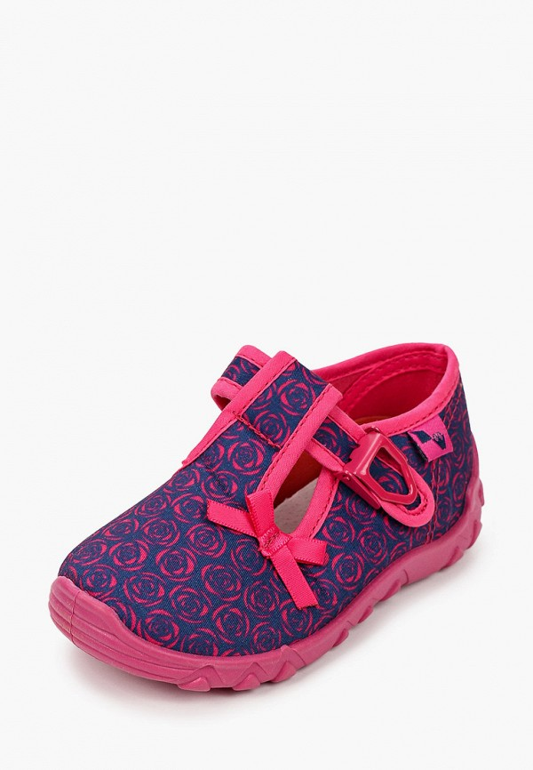 Туфли для девочки Coccodrillo цвет синий  Фото 2