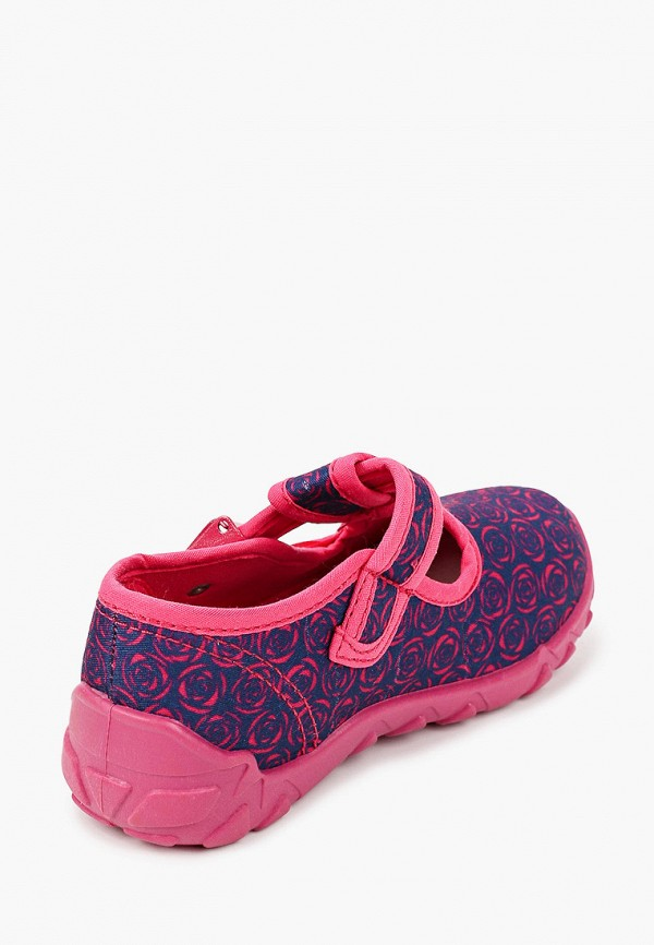 Туфли для девочки Coccodrillo цвет синий  Фото 3