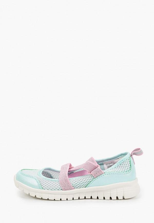 туфли demix для девочки, бирюзовые