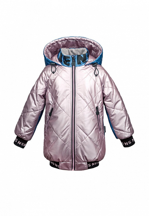 Куртка для девочки утепленная Nikastyle цвет разноцветный