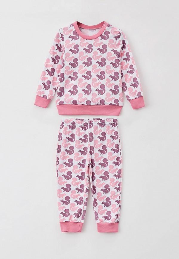 Пижама для девочки КотМарКот цвет розовый