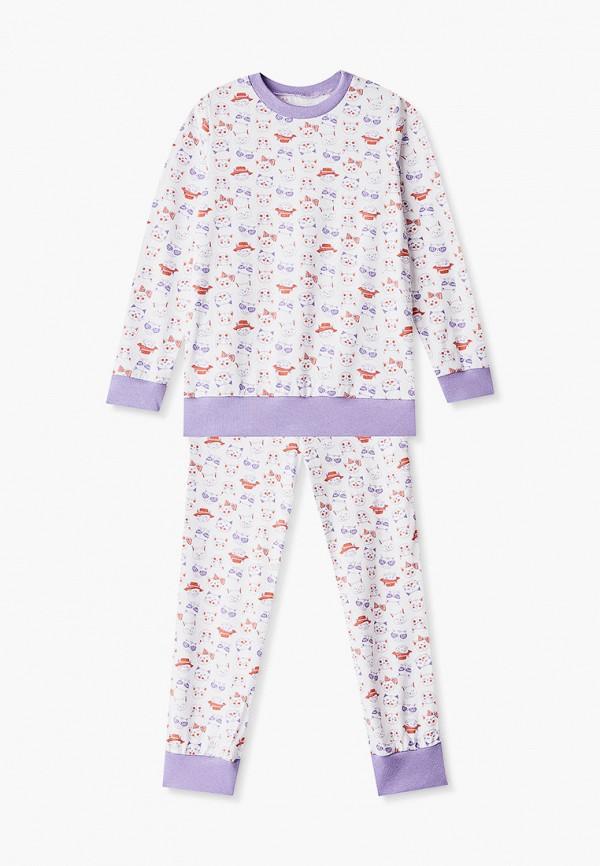 Пижама для девочки КотМарКот цвет белый