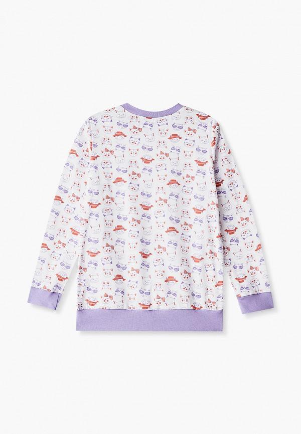 Пижама для девочки КотМарКот цвет белый  Фото 2