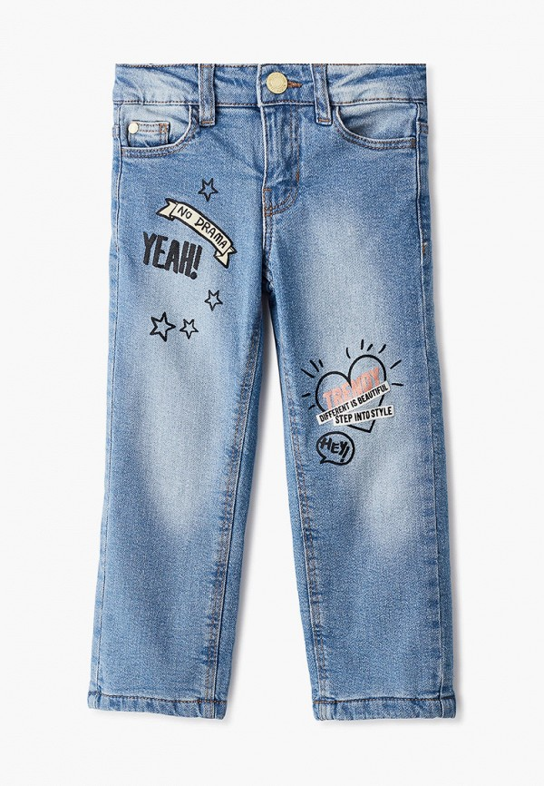 джинсы acoola для девочки, голубые