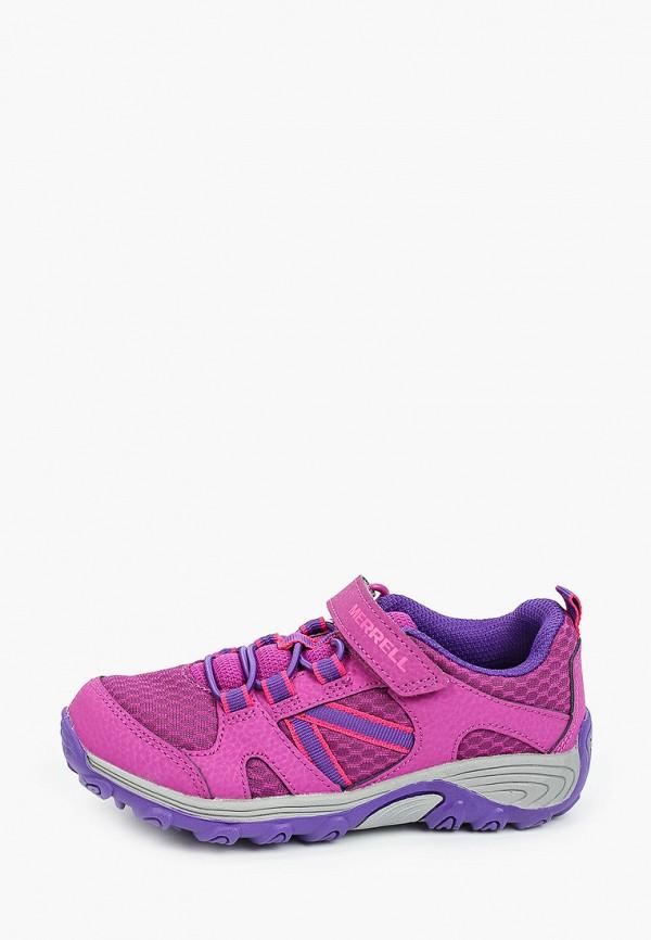 Кроссовки для девочки Merrell цвет фиолетовый