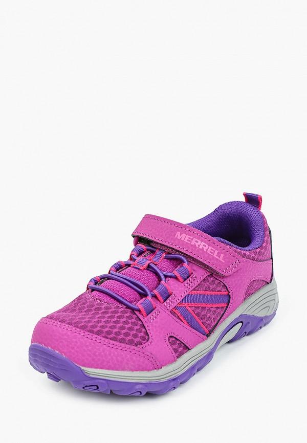 Кроссовки для девочки Merrell цвет фиолетовый  Фото 2