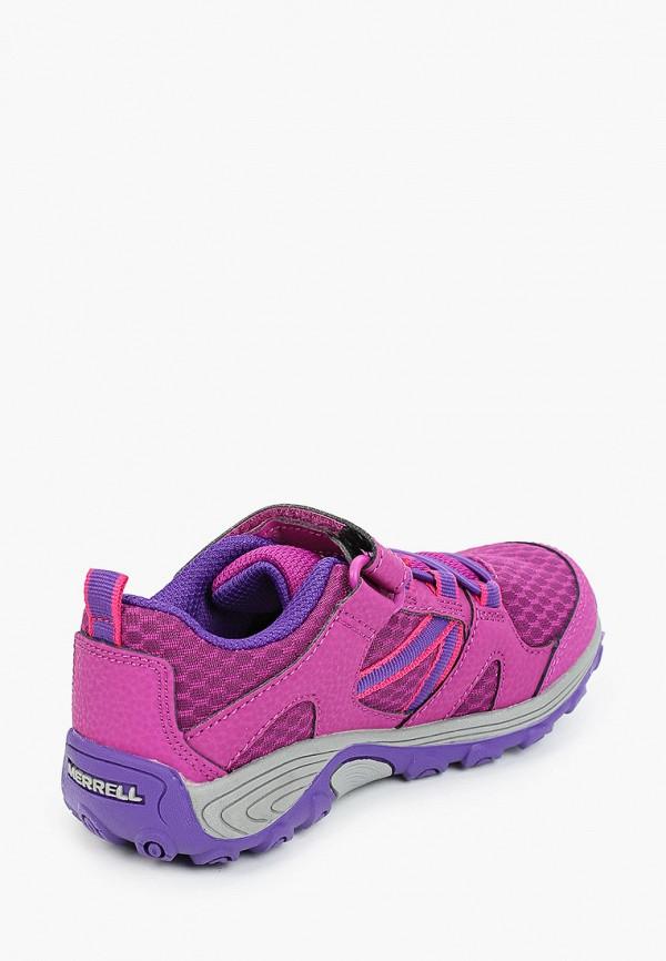 Кроссовки для девочки Merrell цвет фиолетовый  Фото 3