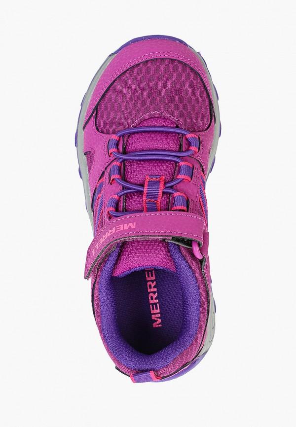Кроссовки для девочки Merrell цвет фиолетовый  Фото 4