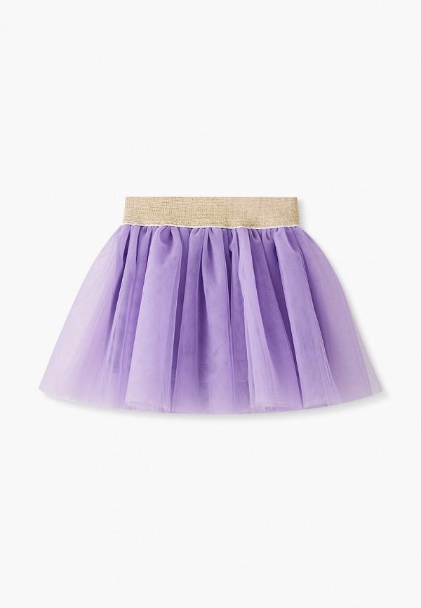 Юбка для девочки Darissa kids цвет фиолетовый