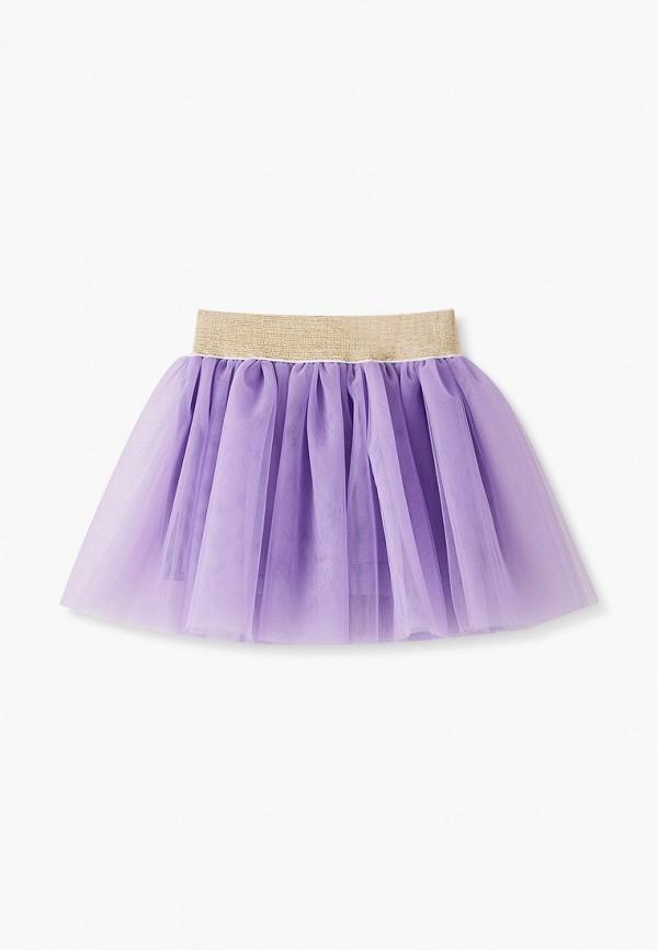 Юбка для девочки Darissa kids цвет фиолетовый  Фото 2