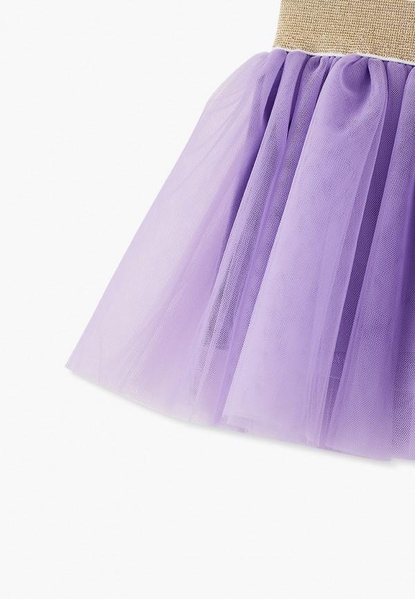 Юбка для девочки Darissa kids цвет фиолетовый  Фото 3