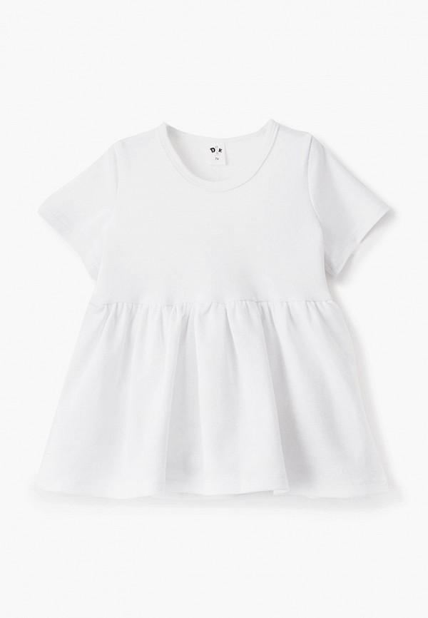 Платья для девочки Darissa kids цвет белый