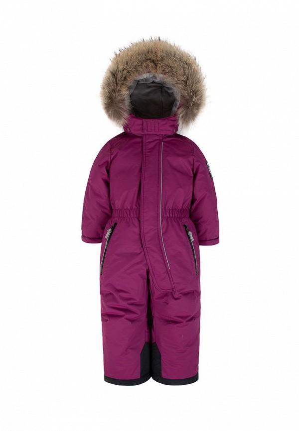 Детский комбинезон утепленный ArctiLine цвет фиолетовый