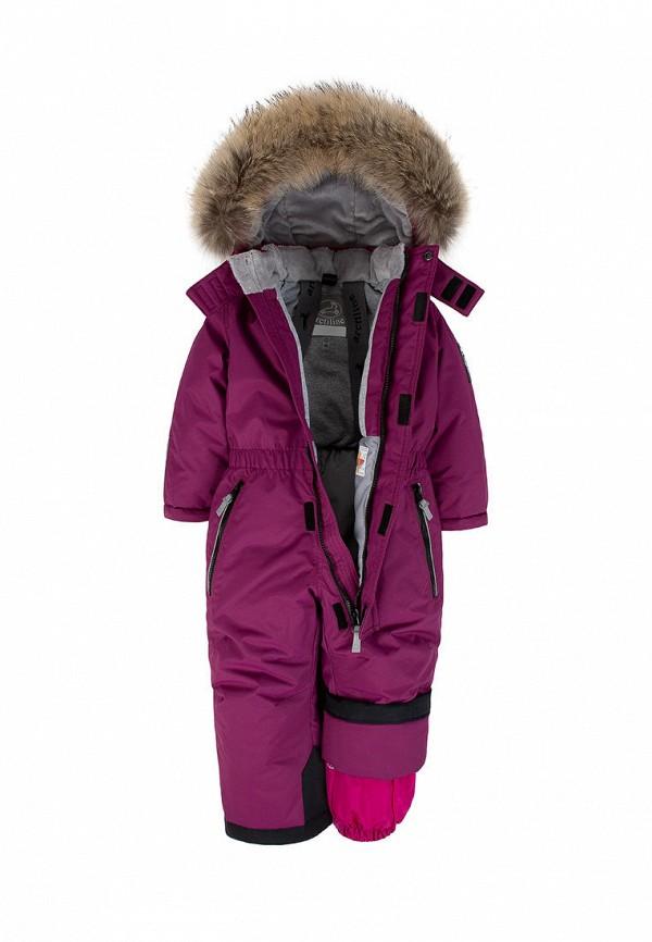 Детский комбинезон утепленный ArctiLine цвет фиолетовый  Фото 3