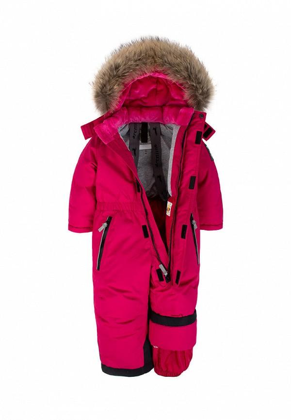 Детский комбинезон утепленный ArctiLine цвет розовый  Фото 3
