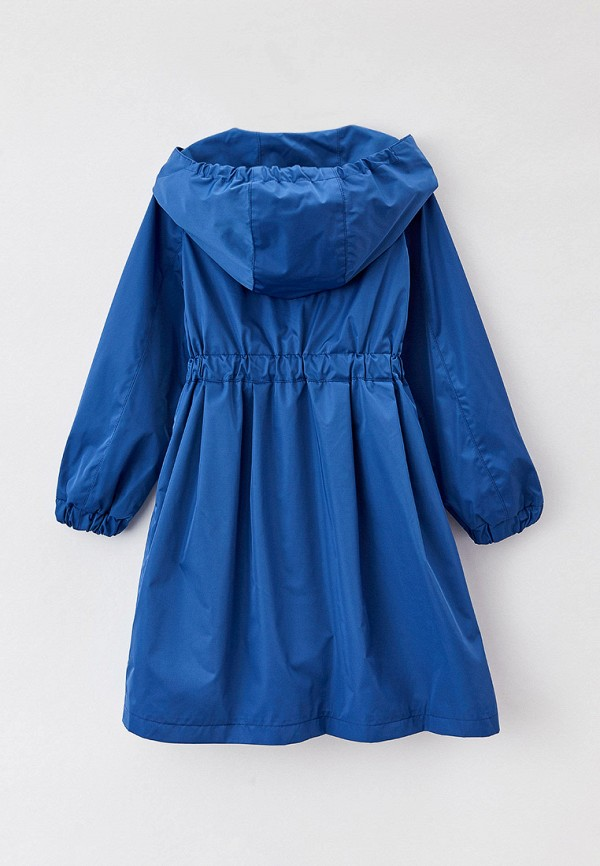 Плащ для девочки Mamma Mila! цвет синий  Фото 2