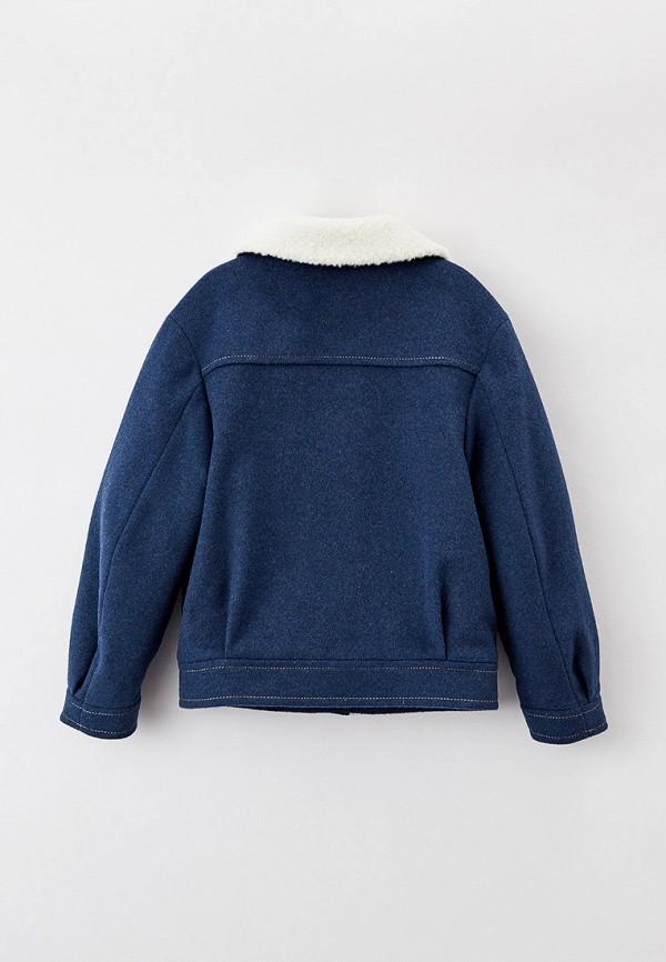 Полупальто Smith's brand цвет синий  Фото 2