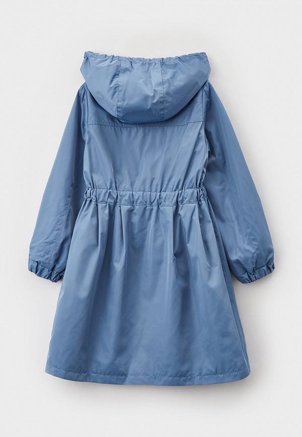 Плащ для девочки Mamma Mila! цвет голубой  Фото 2