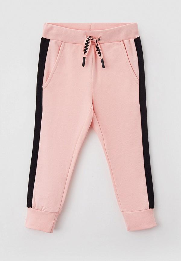 спортивные брюки coccodrillo для девочки, розовые