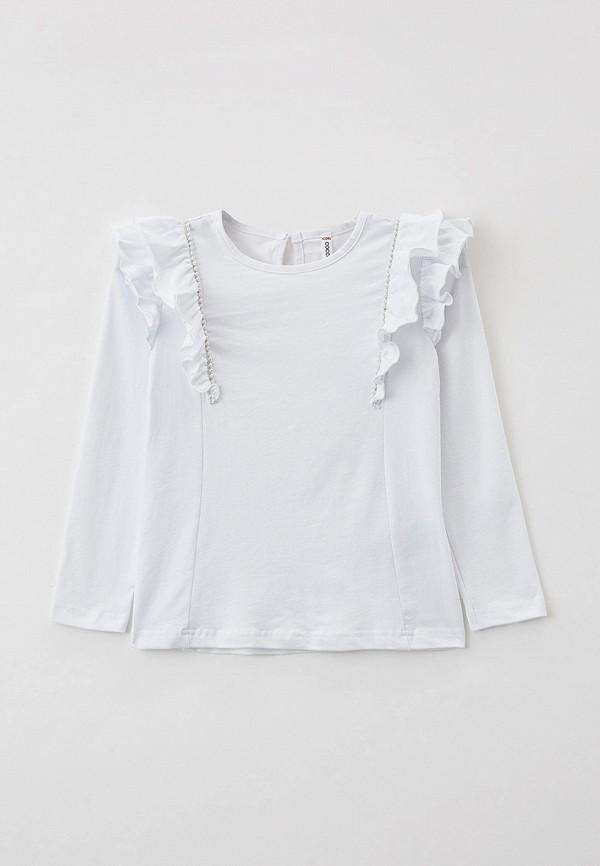 Лонгслив Coccodrillo белого цвета