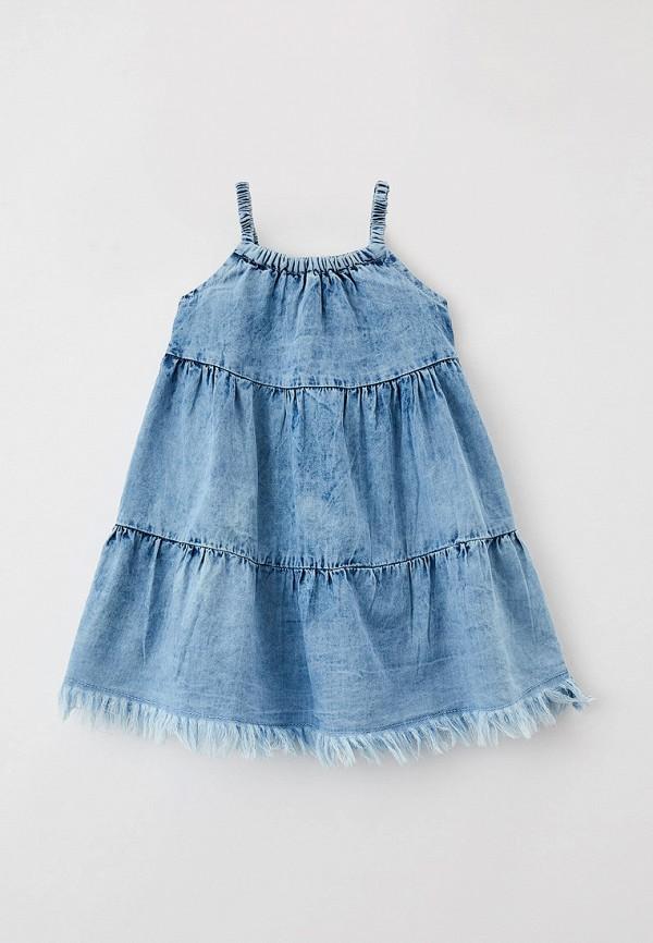 сарафан coccodrillo для девочки, голубой