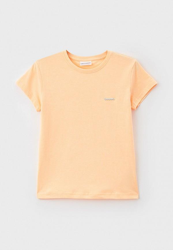 Футболка Coccodrillo оранжевого цвета