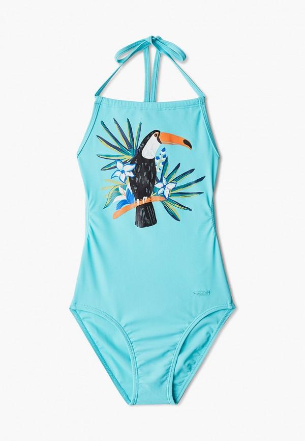 Детский купальник Joss цвет бирюзовый