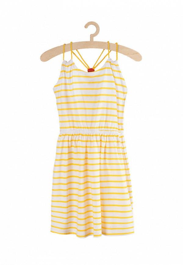 Платья для девочки 5.10.15 цвет желтый