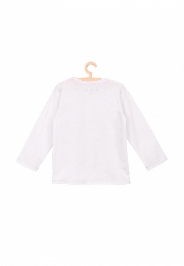 Лонгслив для девочки 5.10.15 цвет белый  Фото 3